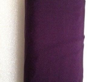 """Vintage Fine Eggplant Deep Plum Silk Petersham/Grosgrain , 6 1/2"""" Wide. Sold by the Yard."""