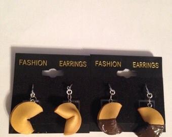 Fortune Cookie Earrings!!