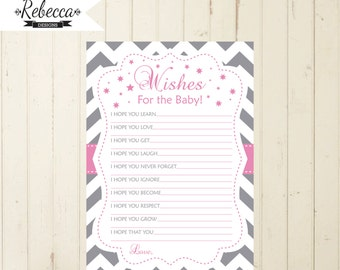 wishes for baby baby shower wishes for baby printable wishes card pink gray baby shower game printable baby game well wishes for baby 102
