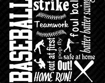 baseball vinyl subway art download DIY baseball vinyl template download vinyl baseball subway art download template baseball vinyl download