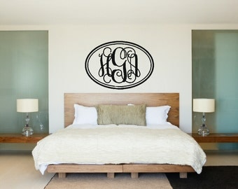 "Shop ""monogram vinyl decal"" in Home Décor"
