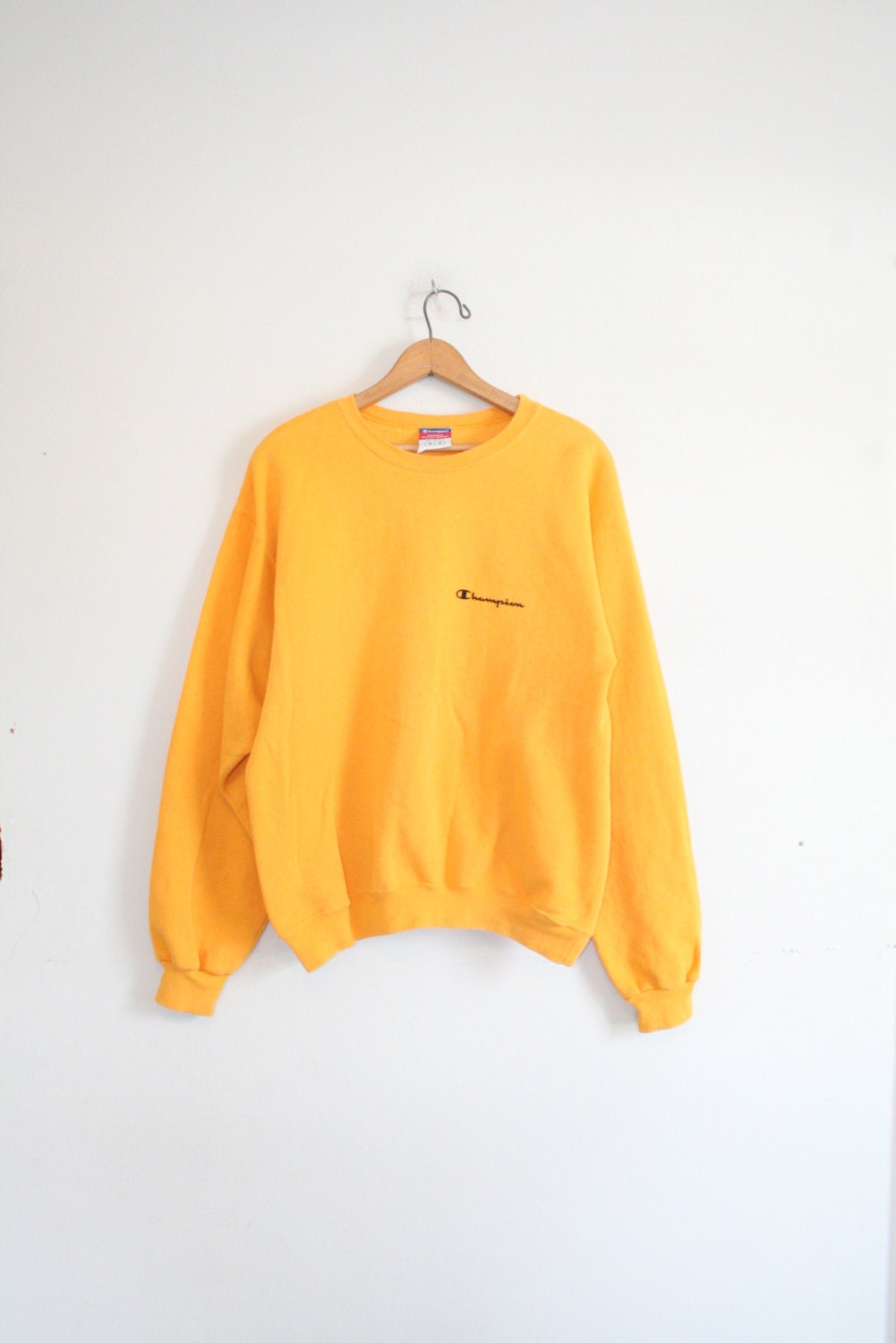 Populaire sweat champion femme jaune,champion supreme sweat shirt pull over  KY02