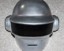 1:1 Scale Custom Halloween Costume, Thomas Bangalter Daft Punk Helmet DJ Mask, Daft Punk Mask Cosplay, Steampunk mask MA181