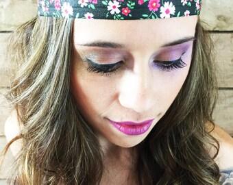 Floral Headband Elastic a Head Piece Women's Hair Accessories ««« 00POE