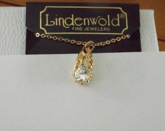 Lindenwold Cubic Zirconia Chain Link Necklace