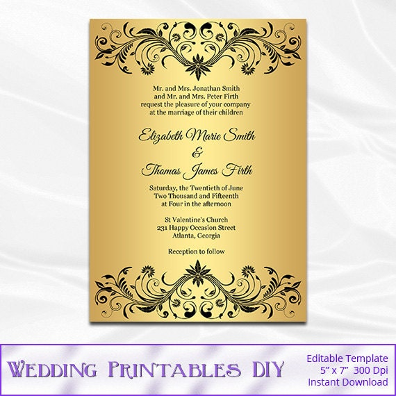 Office Depot Wedding Invitation For Adorable Invitations Example