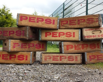 Wholesale lot of 10 Pepsi Crates