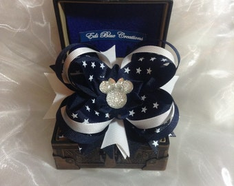 Stackable Minnie Boutique Hair Bow