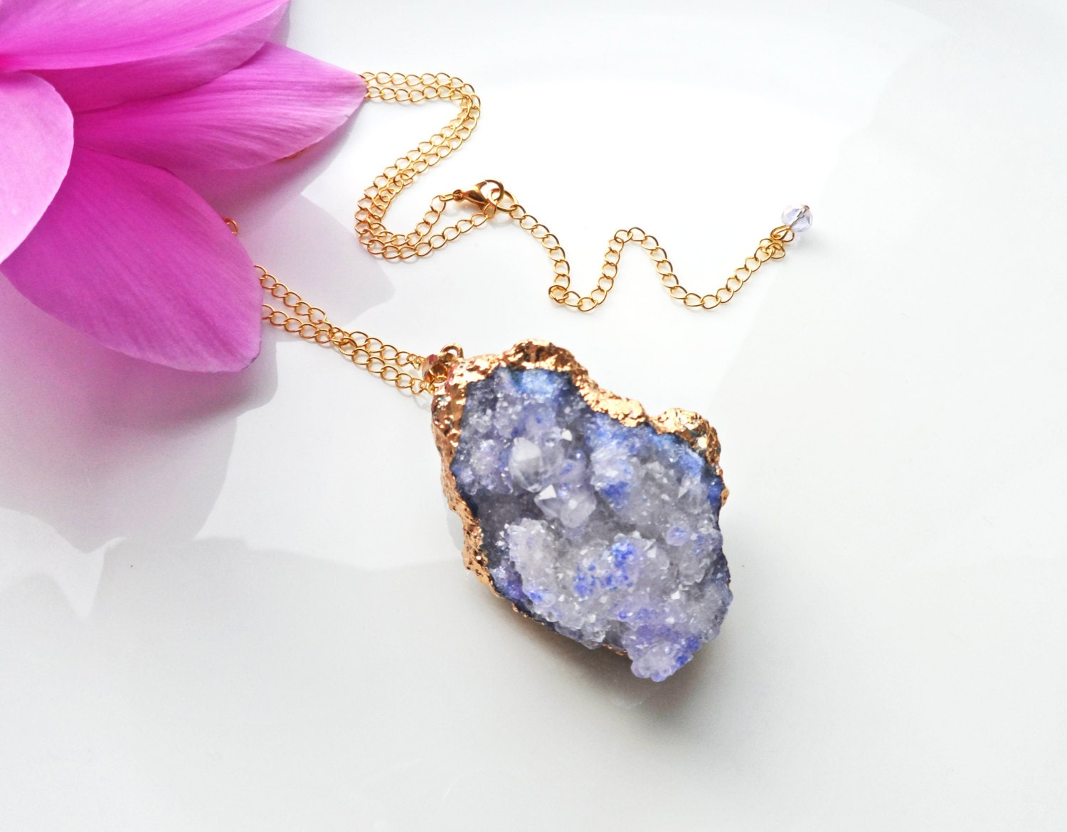 amethyst stone necklace - photo #20