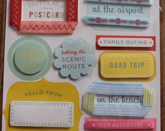 Martha Stewart Travel Stickers