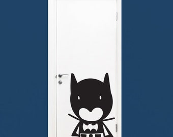 Wall Decal Batman- Vinyl Door Decal- Home Decor- Wall Art