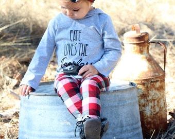 Red/Black/White Plaid Baby Leggings // Baby Legging // Baby Leggings // Baby Clothes // Baby Boy Legging // Baby Girl Legging