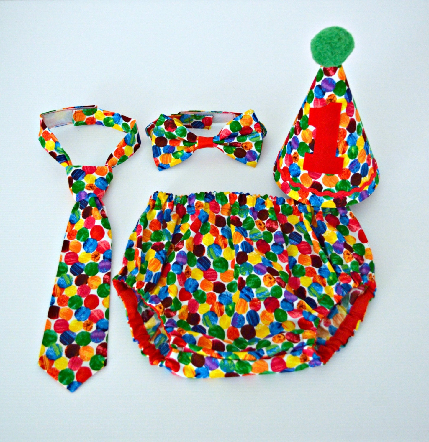 Very Hungry Caterpillar 1st Birthday / Cake Smash Outfit
