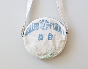 Round Shoulder Bag / marubag 白梅 mb053