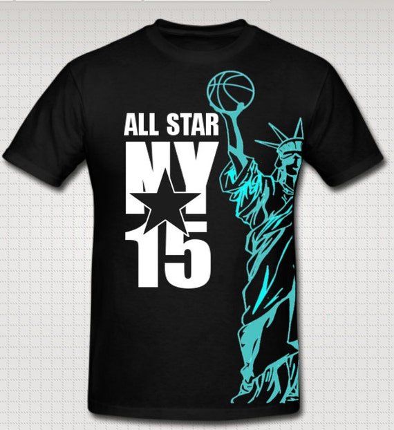 2015 Nba All Star Game Statue Of Liberty Holding By