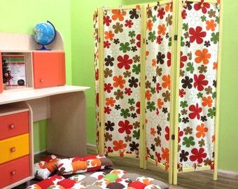 Children's furniture folding screen