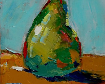 "Impressionism - Still Life - Original Oil Painting - 6""X6"""