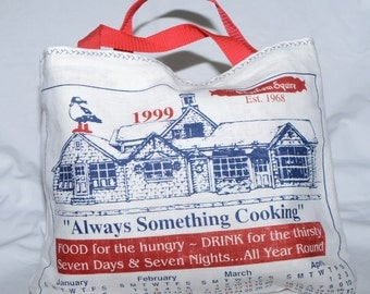 Calendar Towel Tote Bag 1999