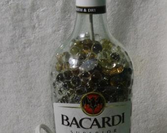 Bacardi Rum Bottle Lamp - Striking!