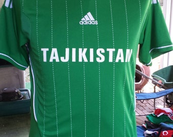 Tajikistan National Team Soccer Jersey by Adidas Size XL