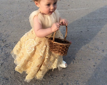 The Bella Bell Dress. Flower Girl Special Occassion Dress