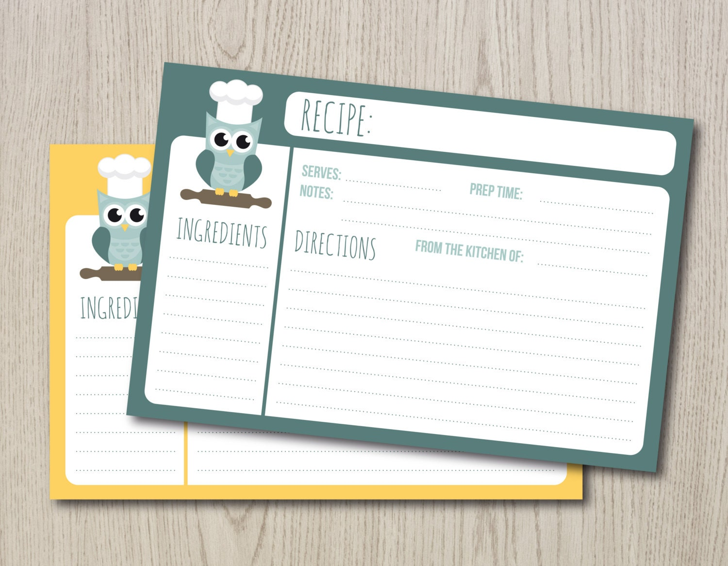 It's just an image of Striking Printable Recipe Cards 4x6