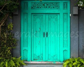 Aqua Doors, Bali - Indonesia ~ Travel Photography ~ Wall Art Print (Unframed)