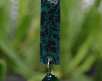 Bookmark with Swarovski crystal embellisments