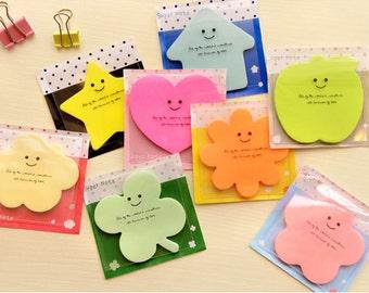 Cute sugar color Stick Markers Sticky notes Post-it Bookmarks Filofax kikki.k Erin Condren scrapbook
