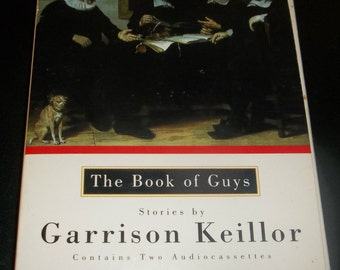 GARRISON KEILLOR Audiobook The Book Of Guys Lake Wobegon Prairie Home Companion Cassette 2 Tapes Minnesota Author Radio Host