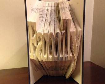 """Book Folding Pattern for """"Family"""" + FREE TUTORIAL"""