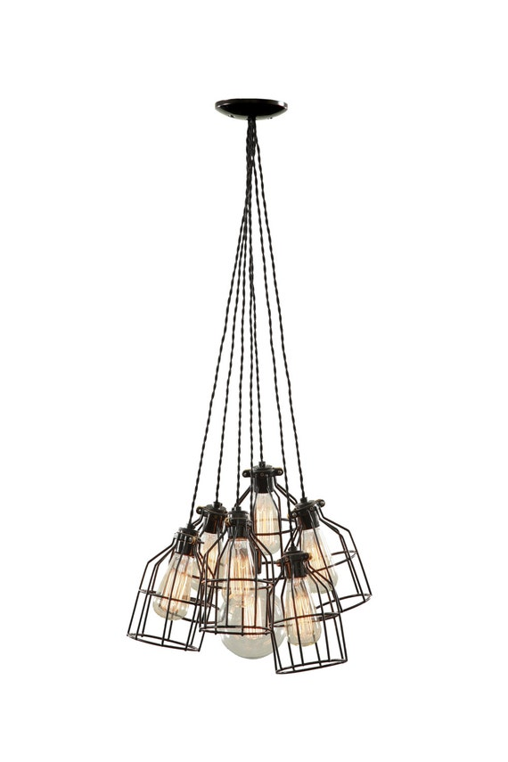 multi pendant light modern pendant light lighting cage