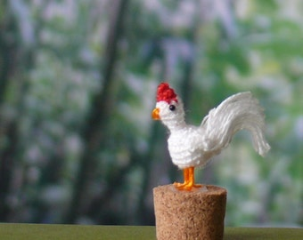 Tiny rooster Etsy