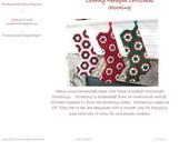 Crochet Stocking Pattern - Granny Hexagon Christmas Stocking Crochet Pattern