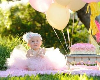 EXTRA FULL Girls Tutu Skirt Light Pink Tutu Baby Tutu Girls 1st Birthday Tutu Handmade  Extra Full Tutu Skirt Handmade