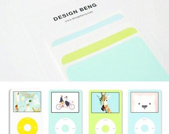 4Sheets! iPod Classic Skin - Set B