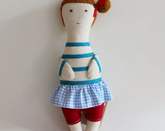 NEW COLECTION - Fabric doll  - Olívia