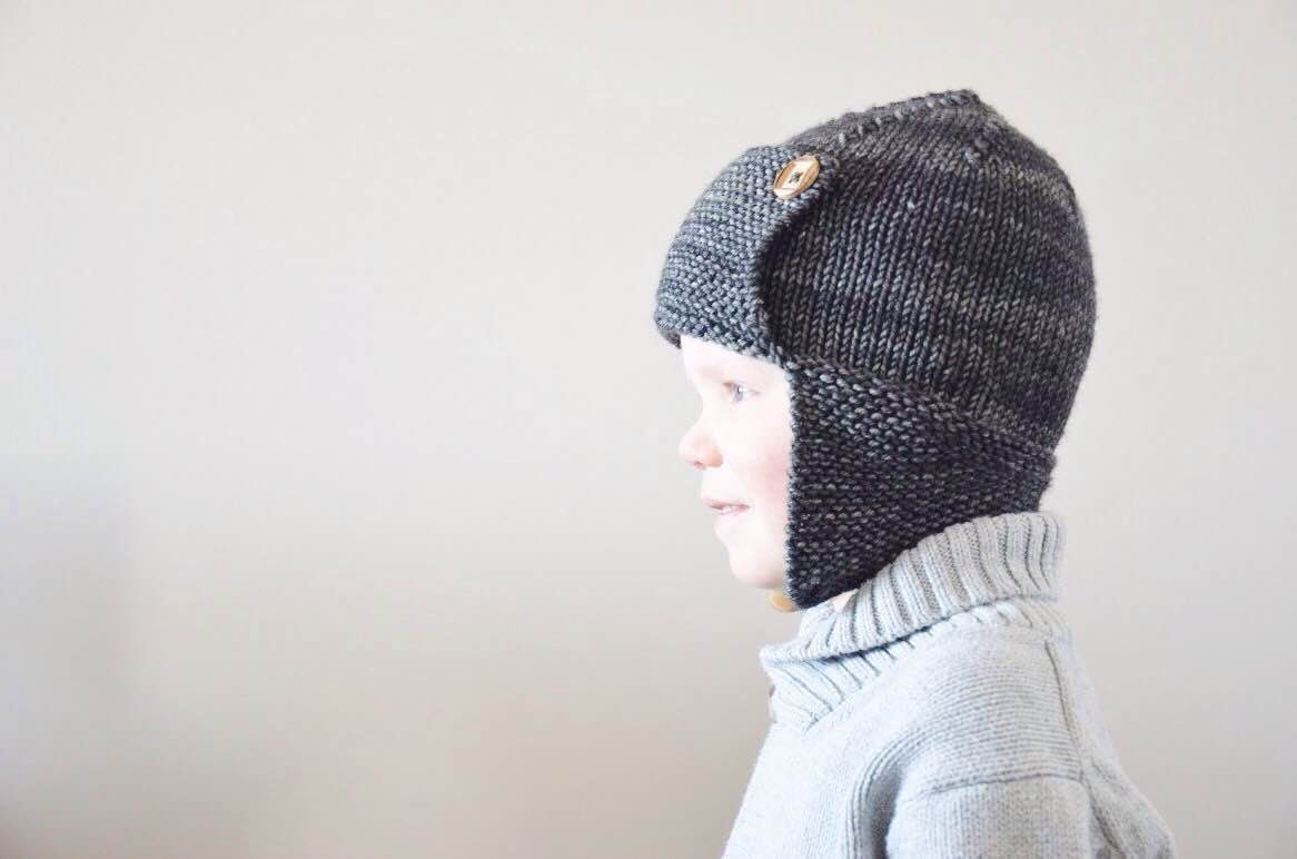 Baby Aviator Hat Knitting Pattern Free : Knit Baby Aviator Hat Merino Wool Aviator Hat Newborn Knit