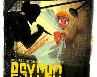 Psycho - Print
