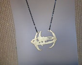 DS9 Star Trek Necklace, Star Trek Jewelry; DS9 Necklace; Star Trek Gift, Geek Gift, Deep Space 9