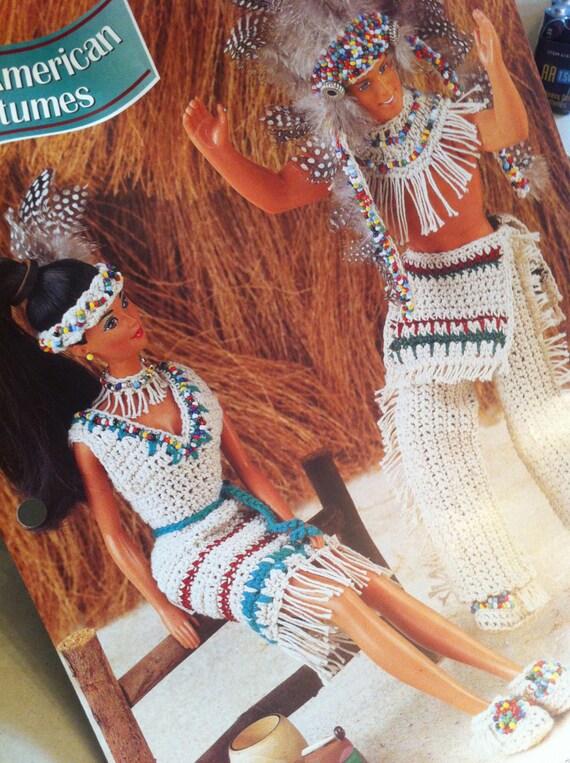 Costumi nativo americano modello di crochet bambola vestiti - Fogli da colorare nativo americano ...