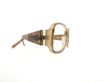Big MOD Rhinestone Glasses Designer Vintage Eyewear / Sunglasses / Tortoise Shell Eyeglasses sale