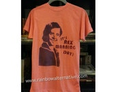 Empire Records t shirt Rex Manning Day 90s movie stencil and spray paint art by Rainbow Alternative