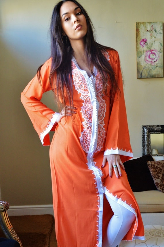 Spring Trendy Finds,Moroccan Caftan Dress (Long) - Lella  Style -Luxury  loungewear, beachwear, gift for moms and to be moms, maternity wear