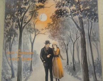 Rambling In the Moonlight Sheet Music1919