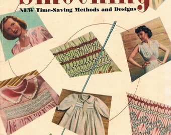Vintage Illustrated Smocking Designs - A Woman's Day Publicaiton