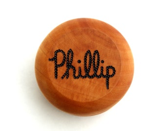 Personalized Maple Yo-Yo Wooden Waldorf Toy Classic Heirloom Gift