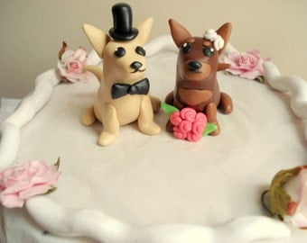 Chihuahua Cake Topper Cake Decoration Wedding Cake Topper Wedding Anniversary Cake Topper Keepsake Chihuahua Wedding Cake