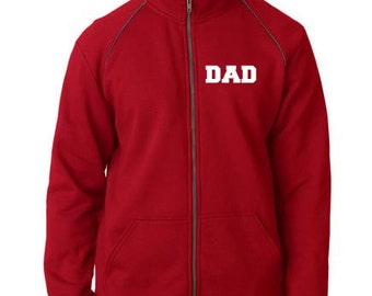 Personalized Premium Blended Fleece Adult Full-Zip Jacket  Monogram or Name Included 92900