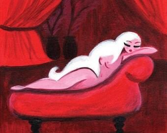 Aphrodite in Repose Art Print